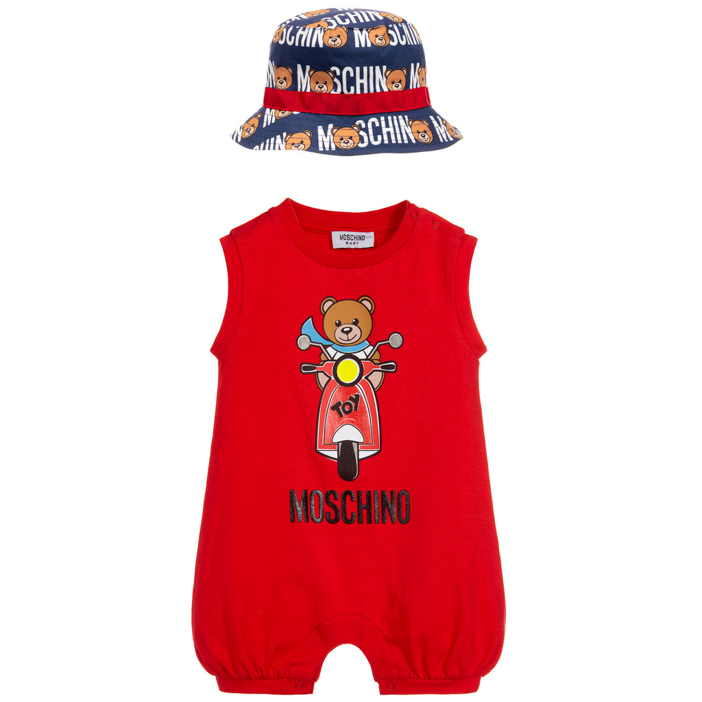 Baby Unisex Romper and Hat (Gift Set)
