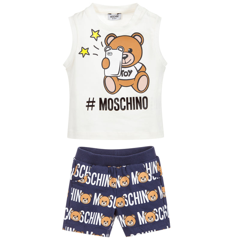 Baby Unisex Top with Shorts Set