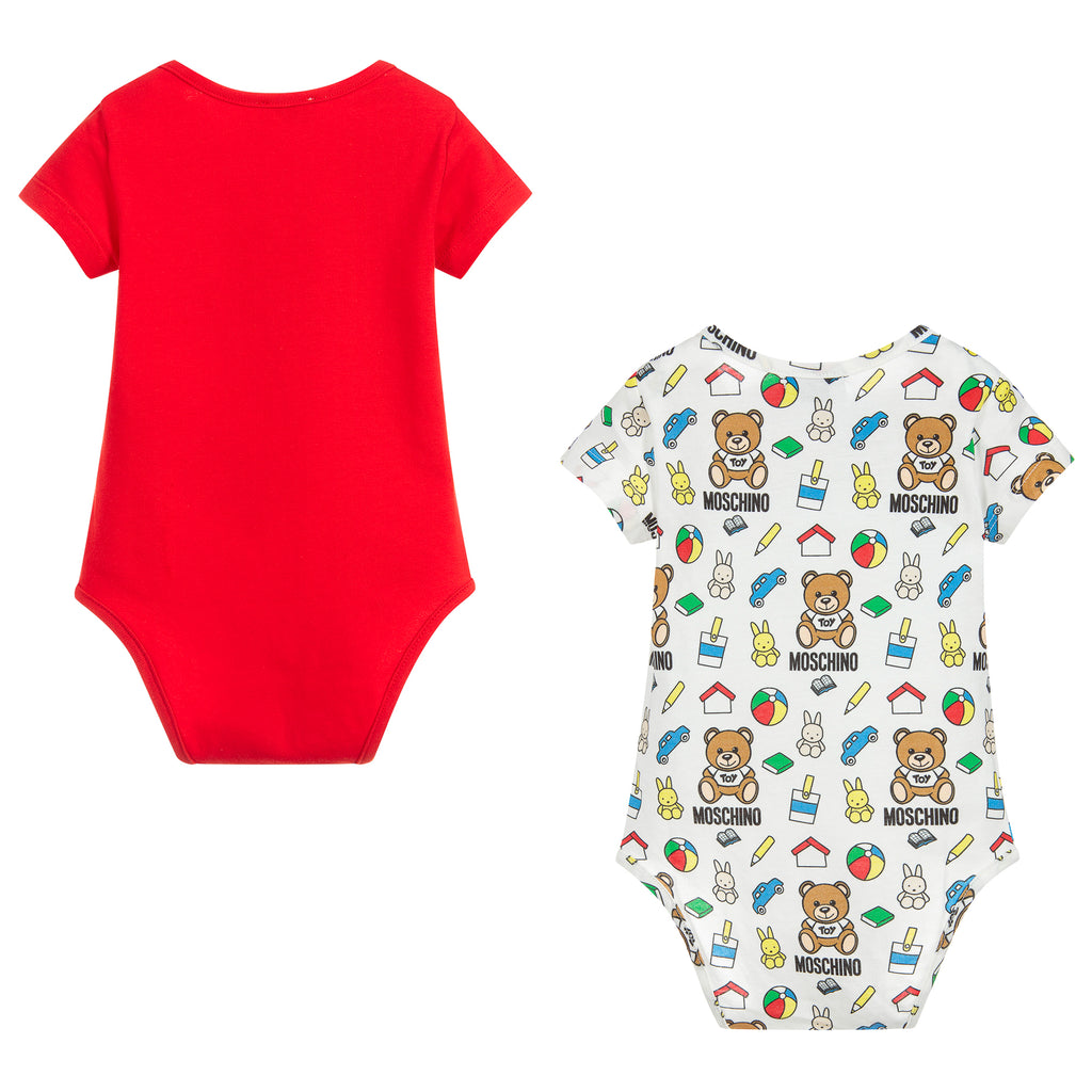 Baby Unisex Two Pack Rompers (Gift Set)