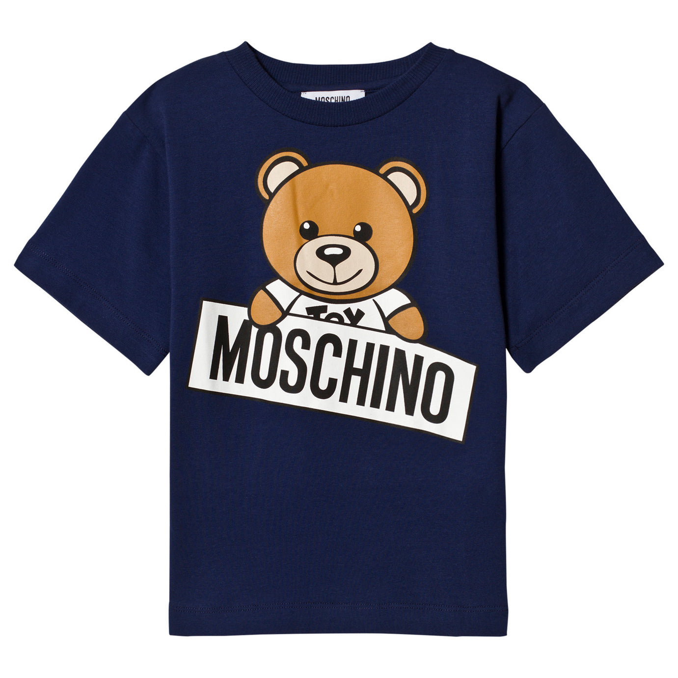 ee996d016 Moschino Navy Blue Teddybear Logo T-shirt (Unisex) – Petit New York