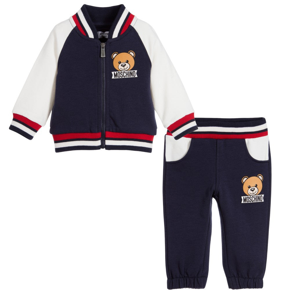 Moschino Baby Teddy Bear Tracksuit