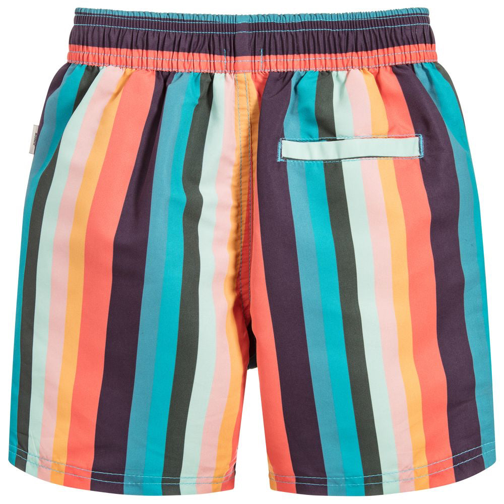 cc56f40d0d Paul Smith Boys Colorful Striped Swim Shorts