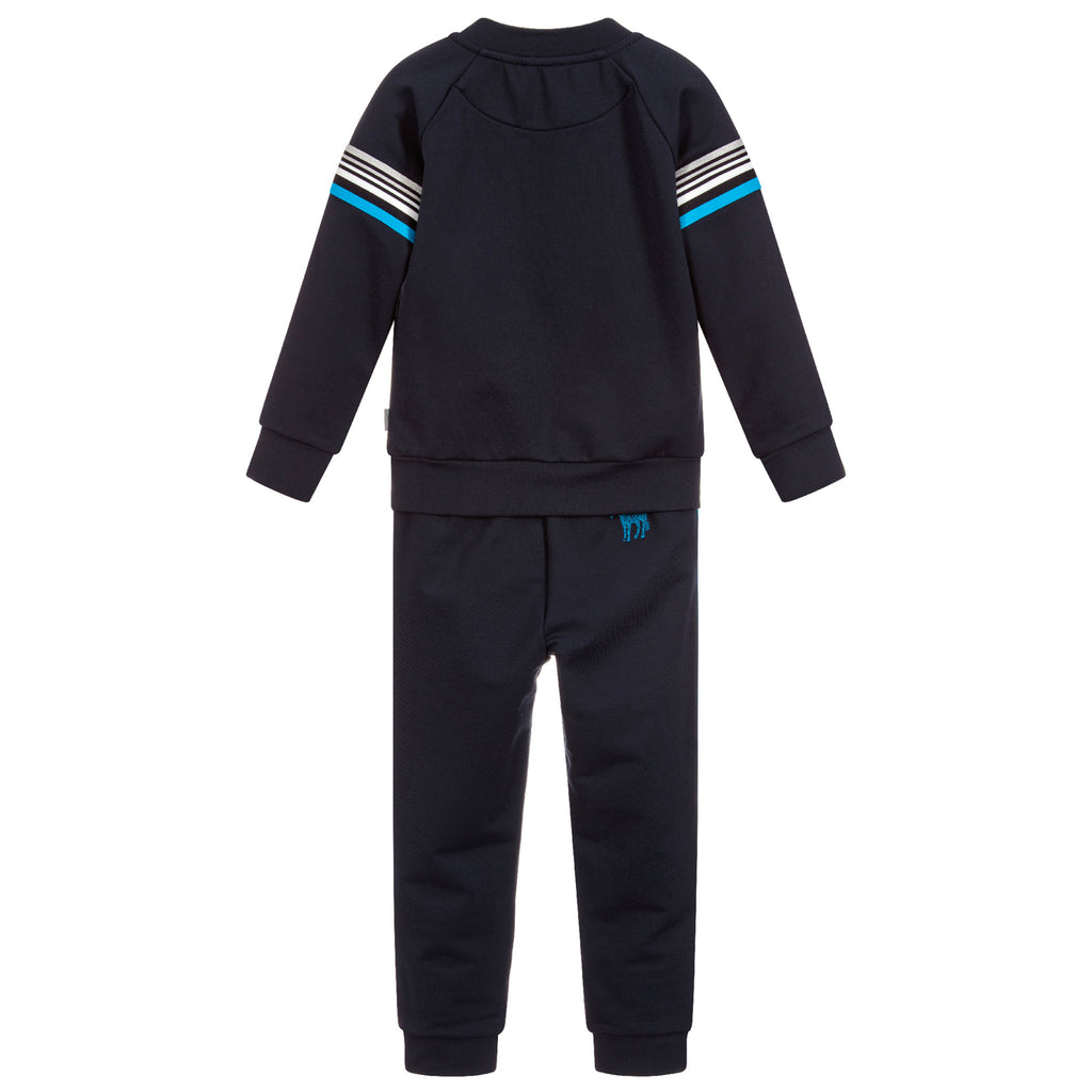 Paul Smith Boys Navy Blue Tracksuit Jacket