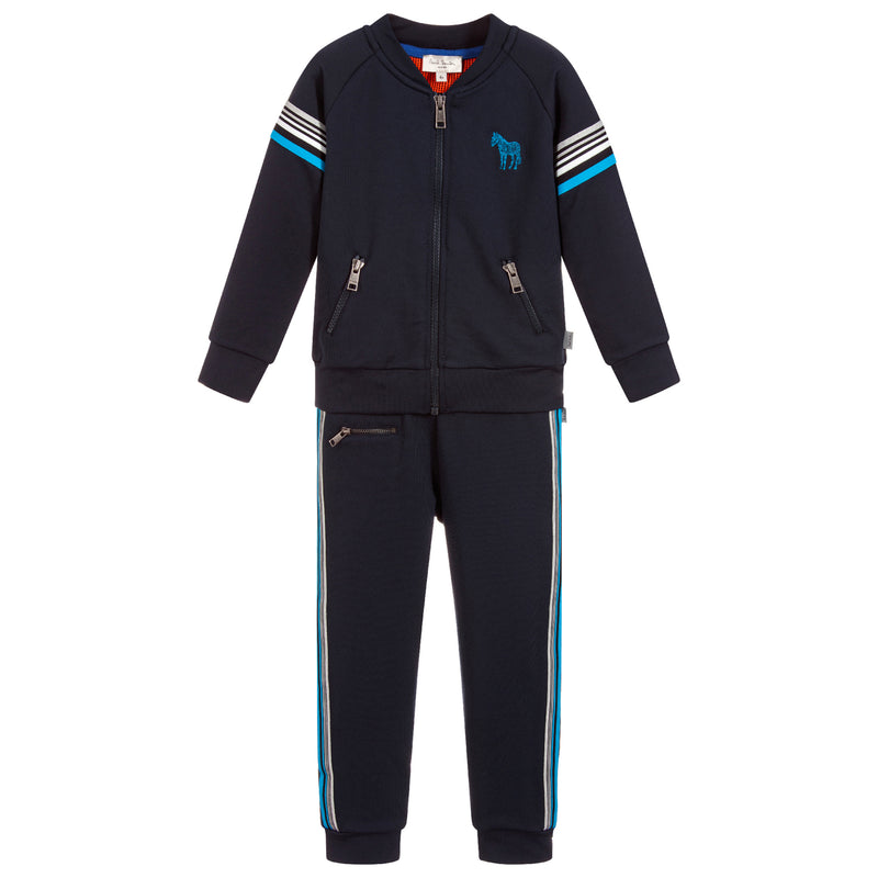 Paul Smith Boys Navy Blue Tracksuit Set