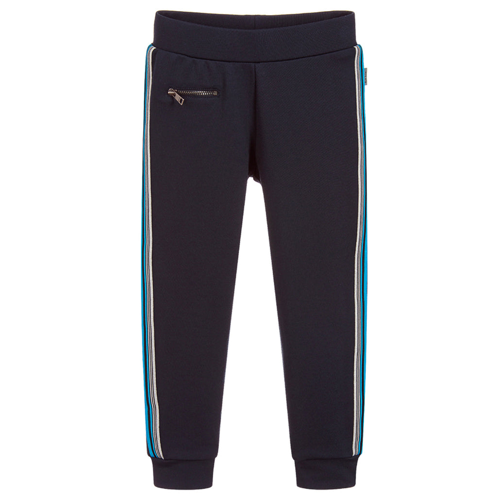Paul Smith Boys Navy Blue Tracksuit Pants