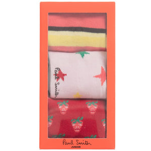 Paul Smith Girls Colorful Socks Gift Set