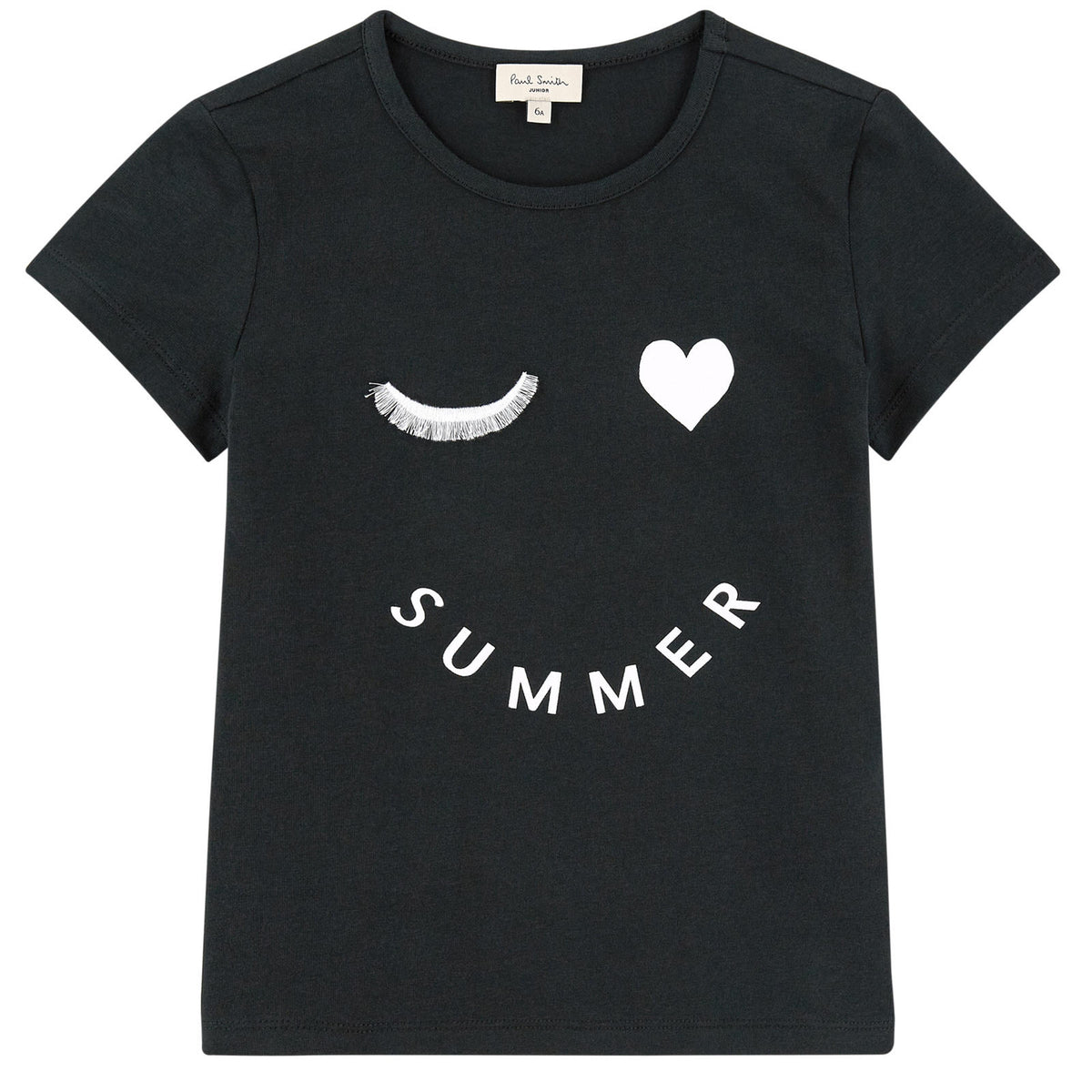 3d409480c Paul Smith Girls  Summer Wink  White Printed T-shirt (Mini-Me ...