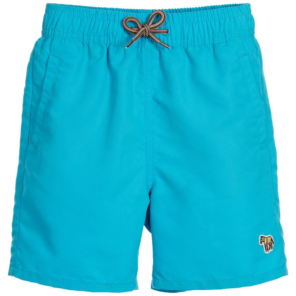 Paul Smith Boys Sky Blue Swim Shorts