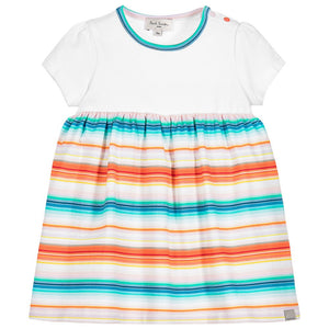 Paul Smith Baby Girls Striped Dress