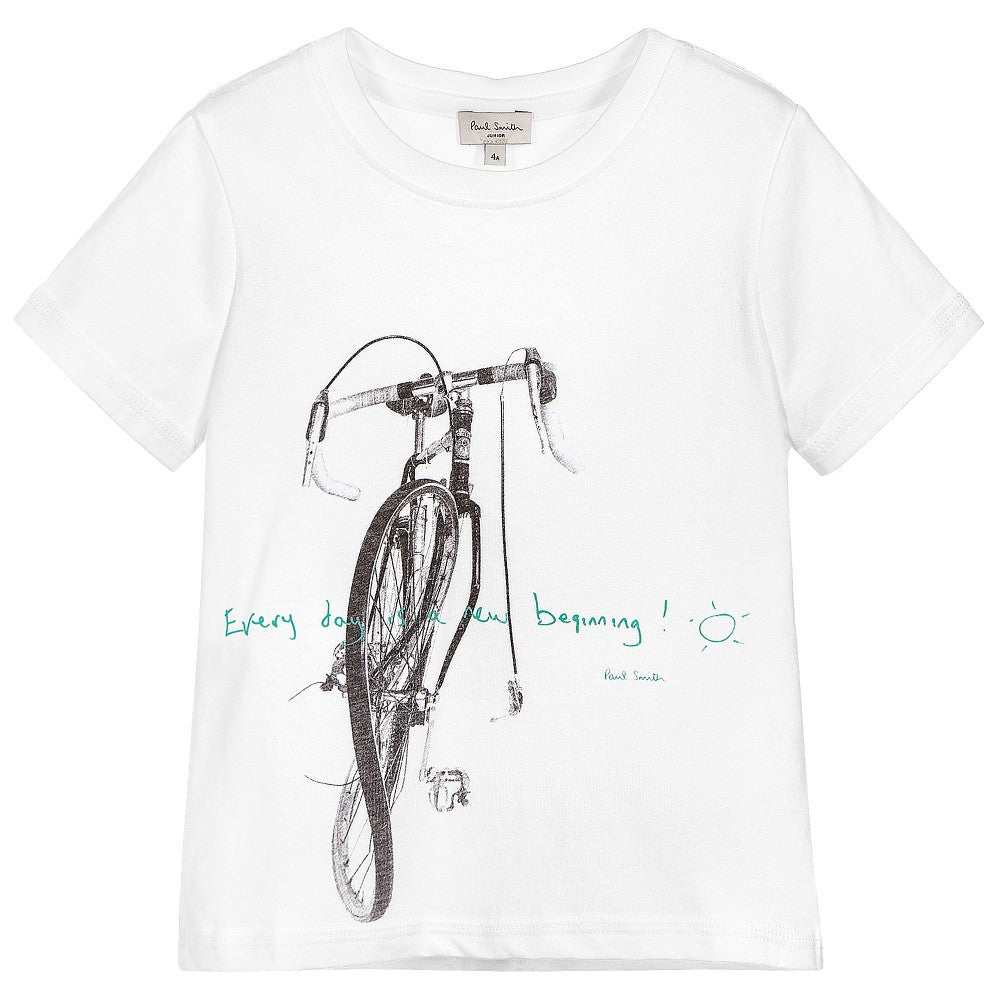 Paul Smith Boys Bicycle T-shirt