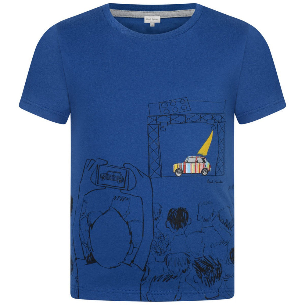 Paul Smith Boys 'Naelan' Print T-shirt