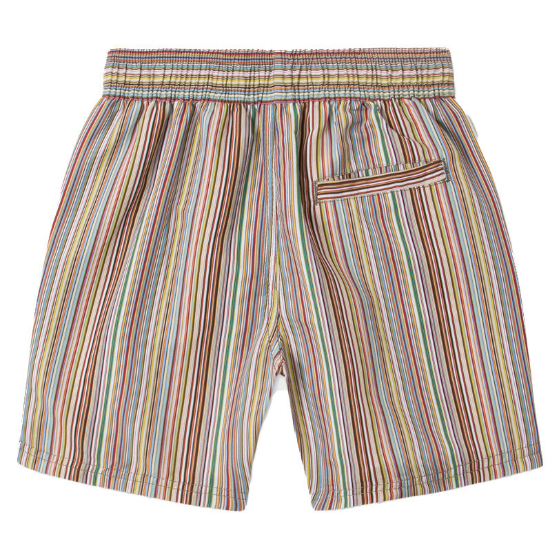 Paul Smith Boys Striped Swim Shorts