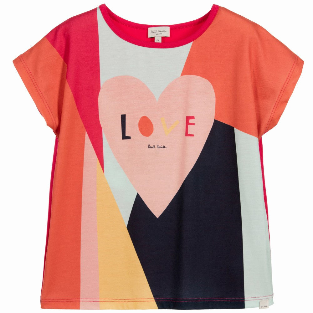 Paul Smith Girls 'Nalicia' Heart T-shirt | New Collection