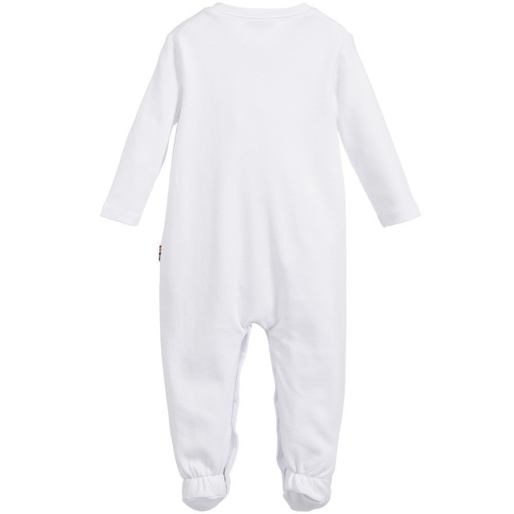 Paul Smith Baby White Onesie & Hat Set