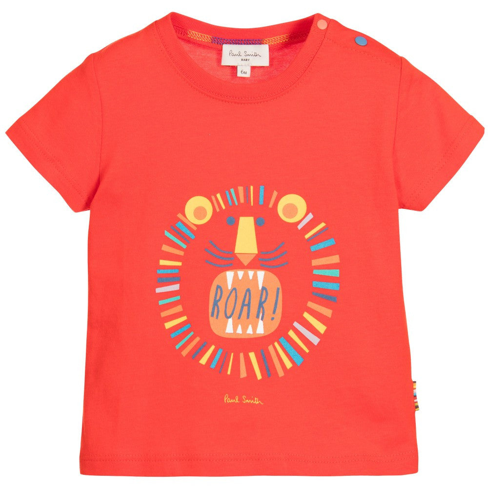 Paul Smith Baby Boys Lion Print T-shirt