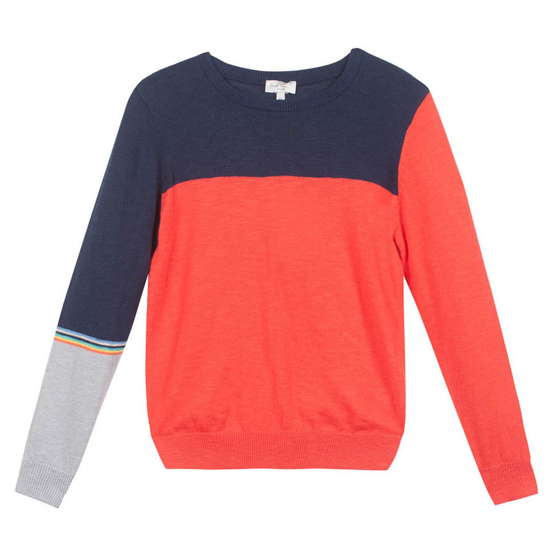 Paul Smith Boys Color Block Sweater