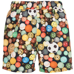 Paul Smith Boys Sports Ball Print Swim Shorts