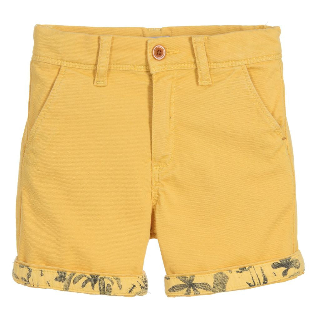 Paul Smith Boys Yellow Bermuda Shorts