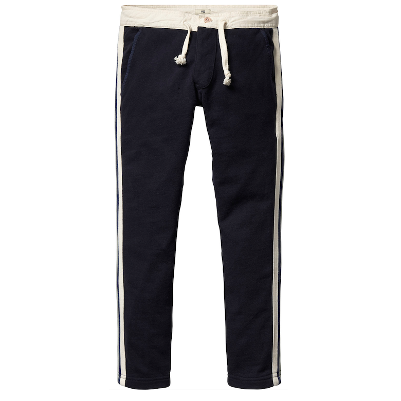 Scotch & Soda Boys Navy Sweatpants Boys Pants Scotch Shrunk [Petit_New_York]