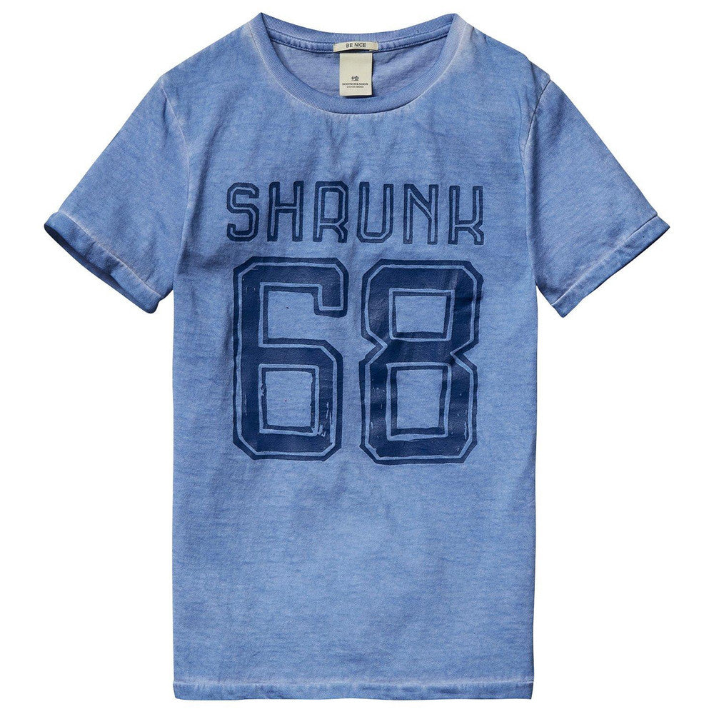 Scotch & Soda Boys 'Shrunk' Printed T-shirt