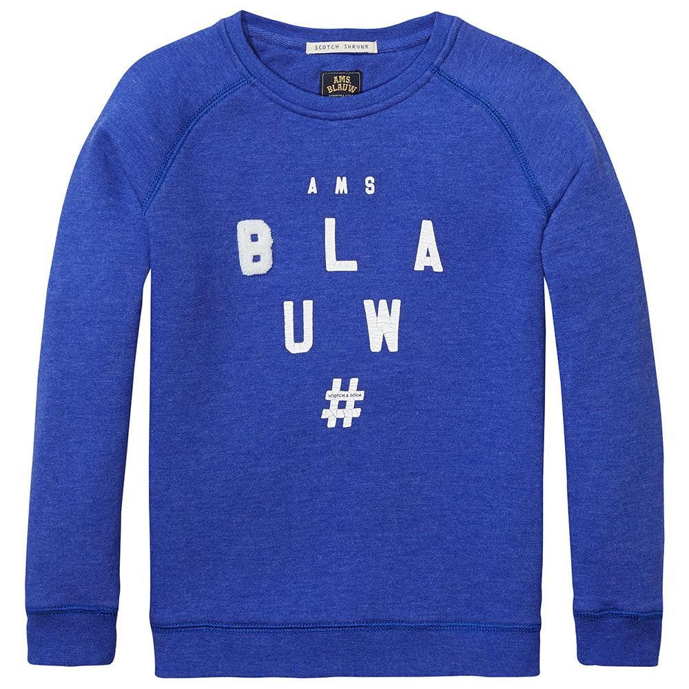 Scotch & Soda Boys 'Blauw' Sweater