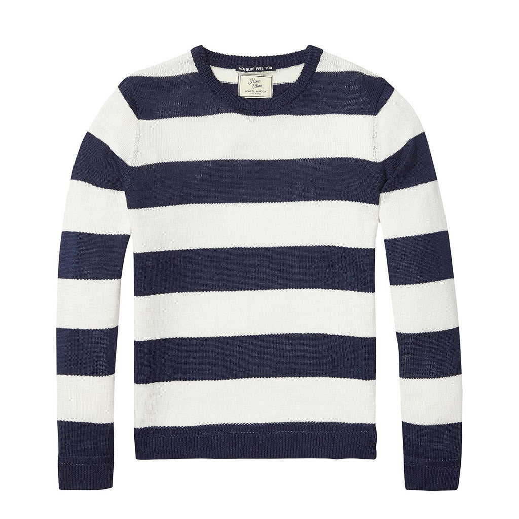 Scotch & Soda Boys Striped Sweater