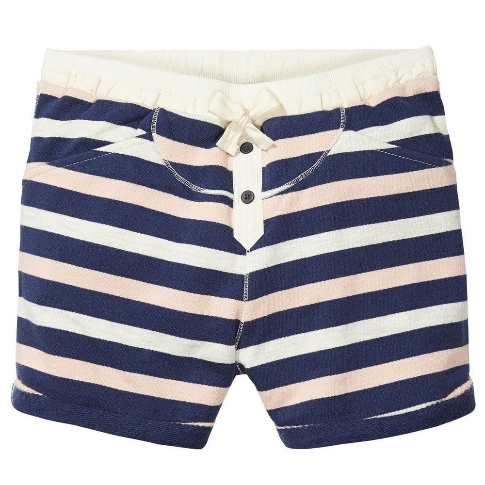 Scotch & Soda Girls Striped Sweatshorts