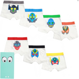 Stella McCartney Boys 7-Days Boxer Shorts Gift Set Boys Underwear & Socks Stella McCartney Kids [Petit_New_York]