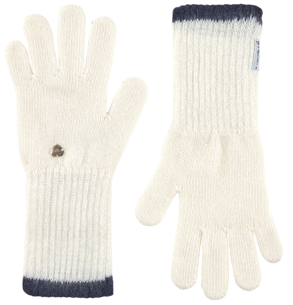 Armani Girls Ivory Gloves Girls Hats, Scarves & Gloves Armani Junior [Petit_New_York]