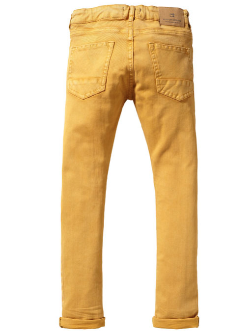 Scotch & Soda Boys Mustard Jeans Boys Pants Scotch Shrunk [Petit_New_York]