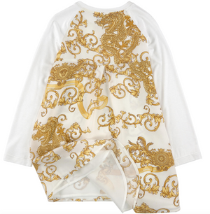 Versace Girls 'Draco' Dress Girls Dresses Young Versace [Petit_New_York]