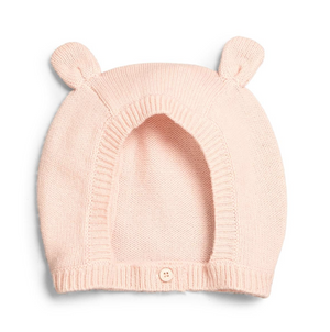 Stella McCartney Baby Cashmere/Cotton Bunny Hat Baby Hats, Scarves & Gloves Stella McCartney Kids [Petit_New_York]