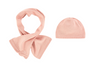 Chloe Baby Soft Pink Hat & Scarf Baby Hats, Scarves & Gloves Chloé [Petit_New_York]