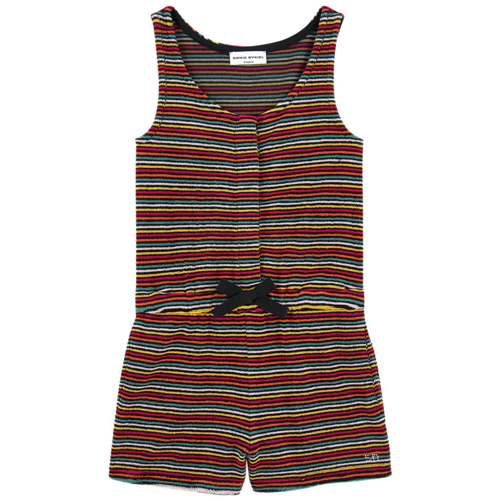 Girls Colorful Striped 'Alana' Romper