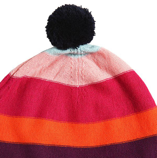 57e7766d6d6 Sonia Rykiel Girls Colorful Striped Beanie Hat – Petit New York