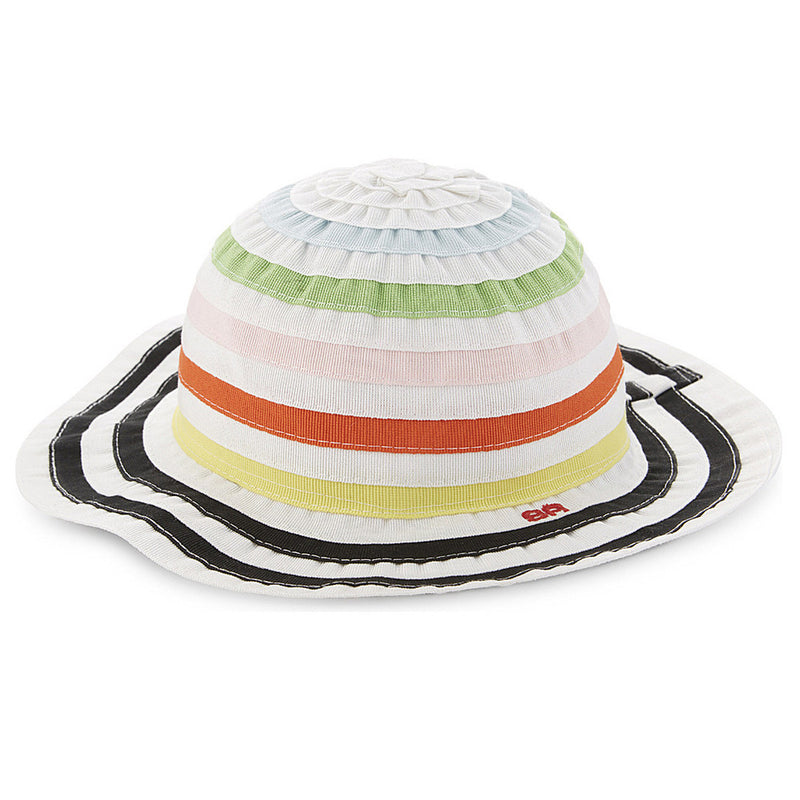 Girls Colorful Striped Hat