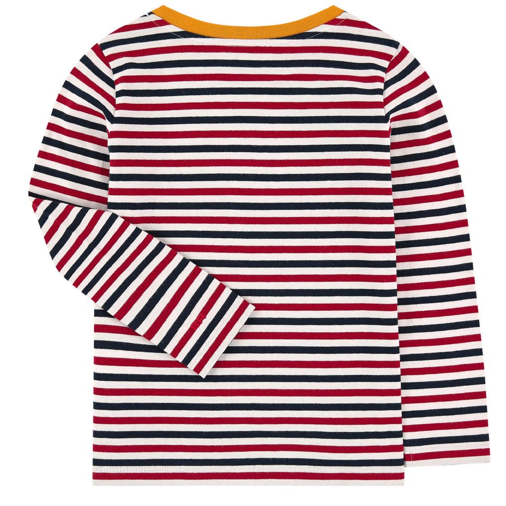 Sonia Rykiel Girls Colorful Striped T-shirt with Print