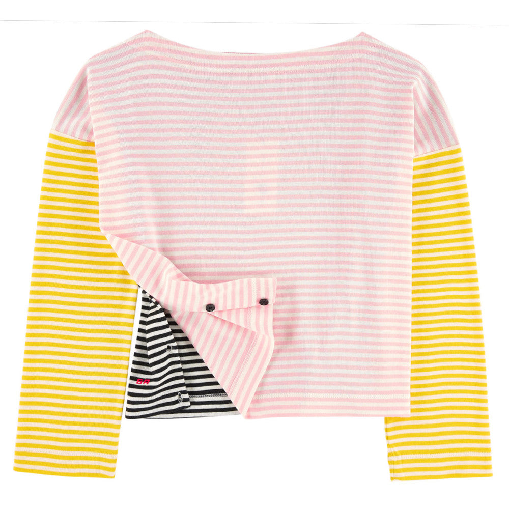 Girls Colorful Striped Top