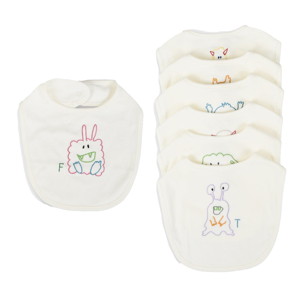 Baby 7 Weekdays Bibs Gift Set (unisex)