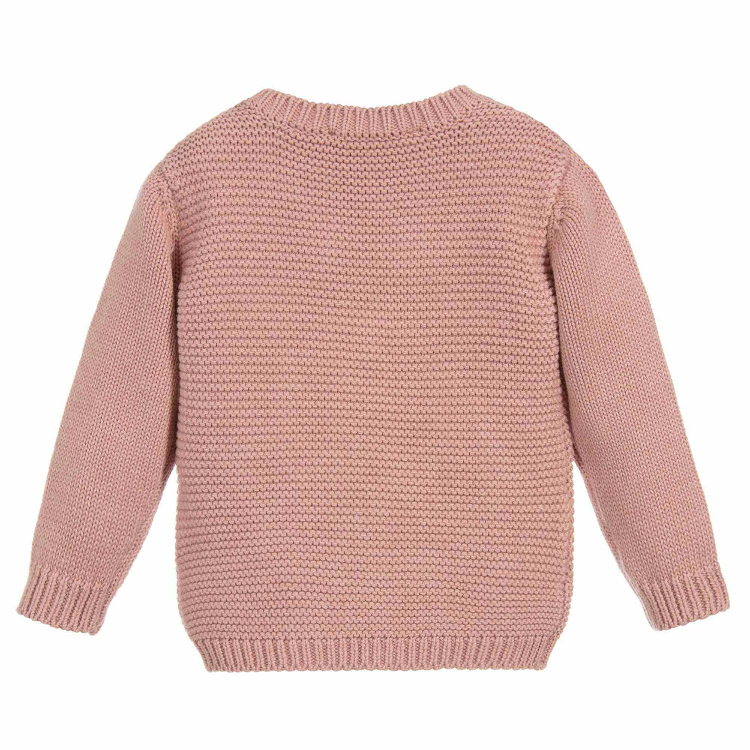 c008536f6 Stella McCartney Baby Girls Soft Pink Ladybug Sweater – Petit New York