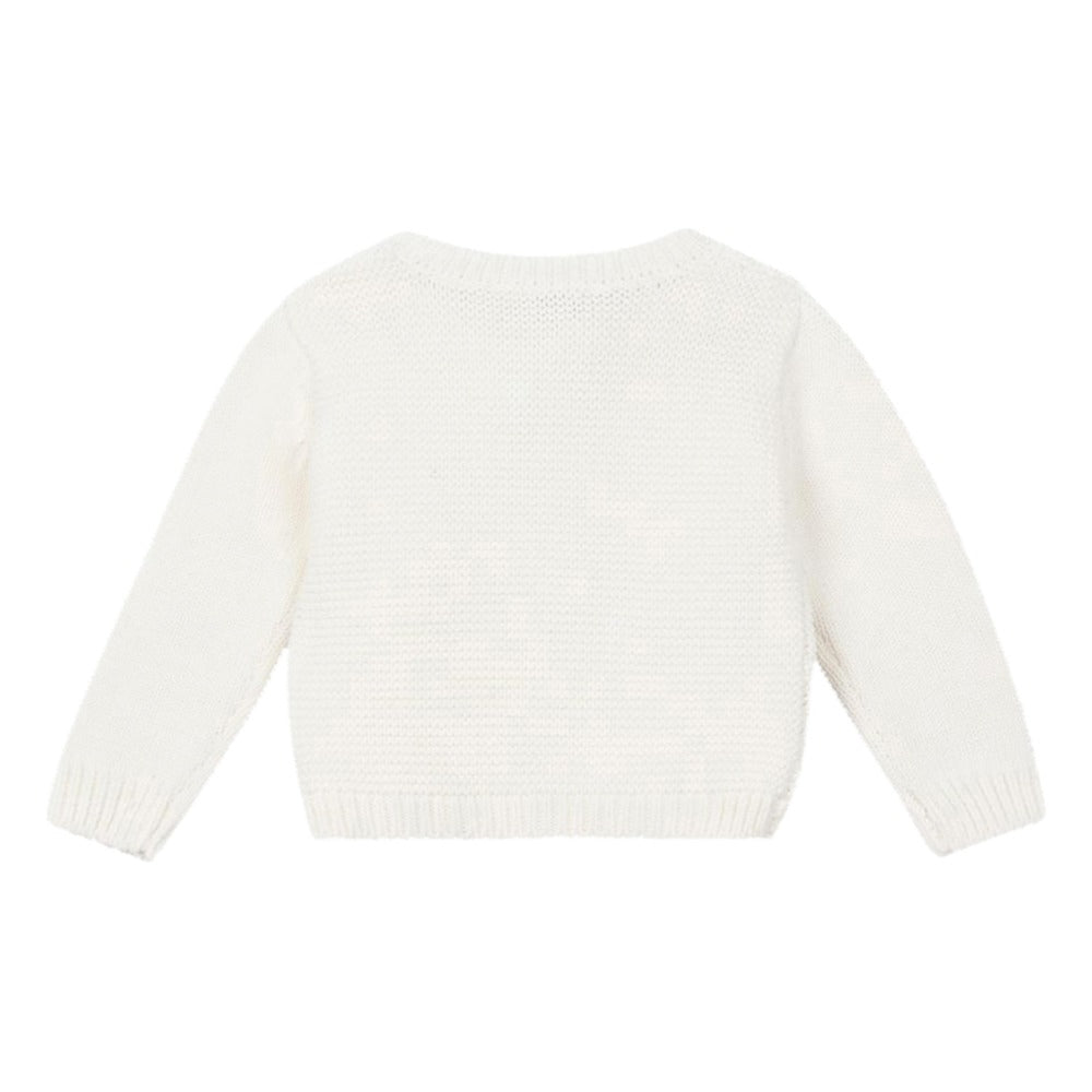 Stella McCartney Baby Ivory Bumble Bee Sweater (unisex)