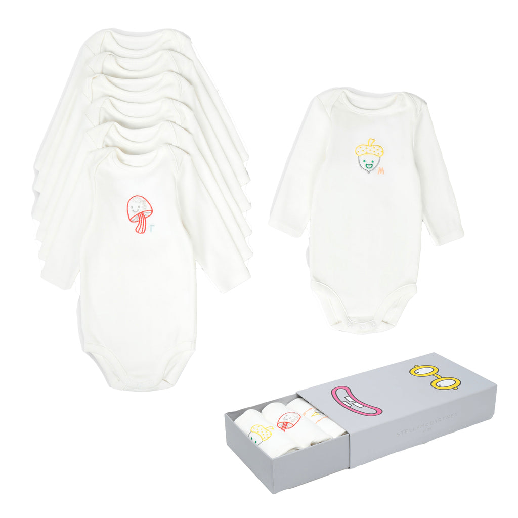 Baby Unisex 7 Days Rompers (Gift) Set