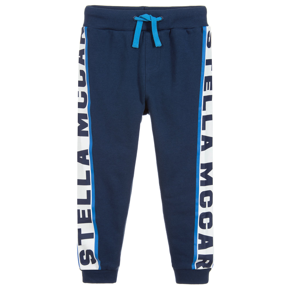 Boys Blue Logo Sweatpants