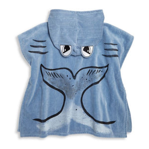 Stella McCartney Boys Hooded Poncho Towel Accessories Stella McCartney Kids [Petit_New_York]