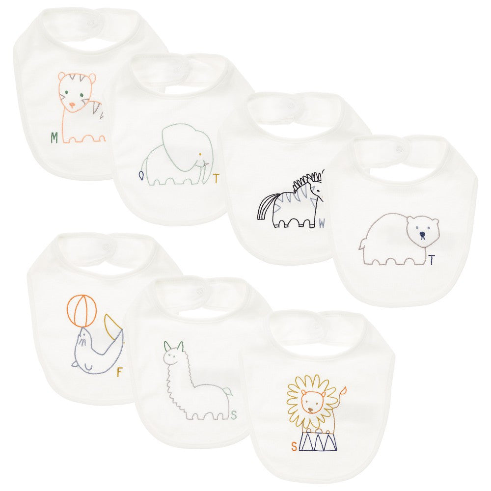 Stella McCartney Baby Seven-Piece Bib Gift Set Accessories Stella McCartney Kids [Petit_New_York]