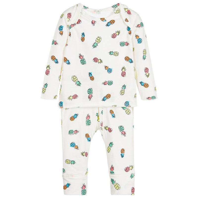 Baby Colorful Pineapple Print Two-Piece Set