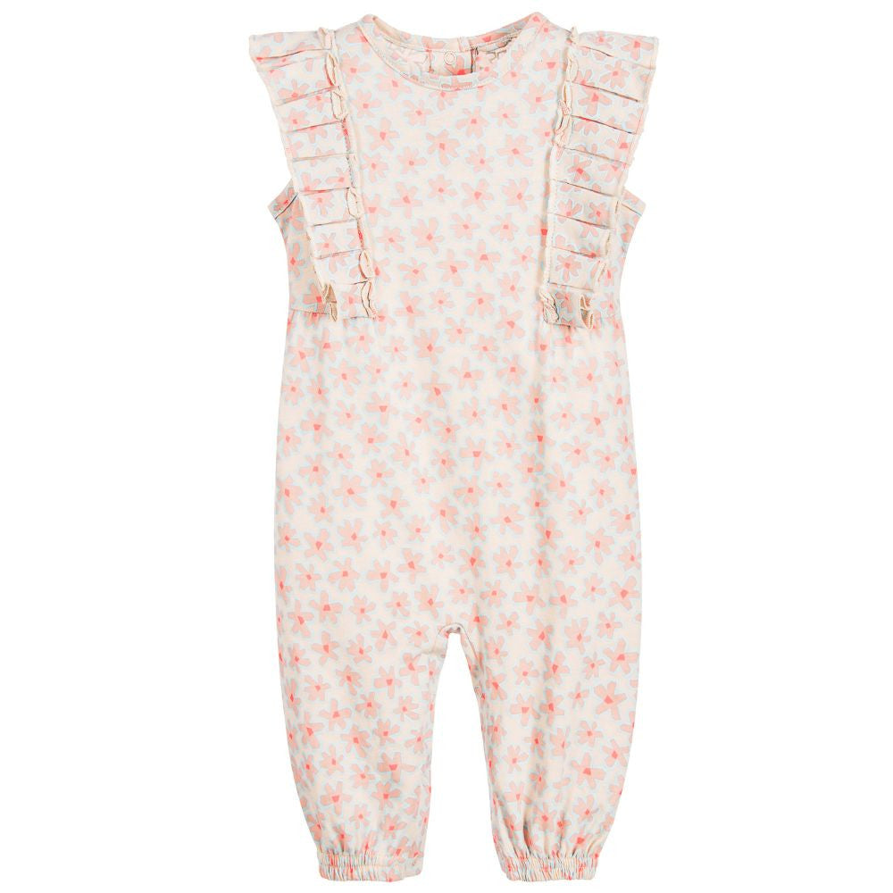 Stella McCartney Baby Girls Floral Romper Baby Rompers & Onesies Stella McCartney Kids [Petit_New_York]