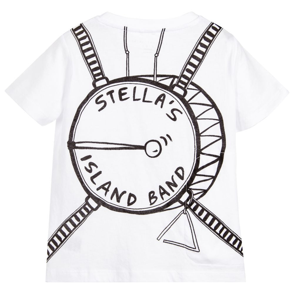 Stella McCartney Boys Musical Instrument T-shirt Boys T-shirts Stella McCartney Kids [Petit_New_York]