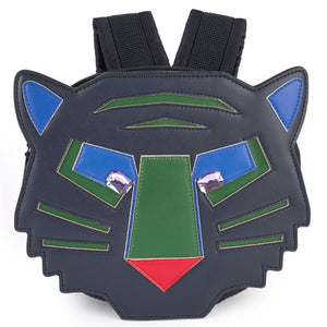 Stella McCartney Boys Navy Tiger Backpack Accessories Stella McCartney Kids [Petit_New_York]