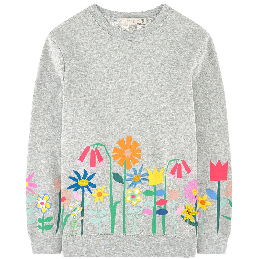 Stella McCartney floral print sweatshirt Discount The Cheapest Discount Manchester Great Sale New For Sale UmKqJfq